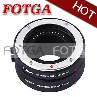 NEW!FOTGA Macro AF Auto Focus Extension Tube 10mm 16mm Set DG for Samsung NX mount!!WHOLESALE 0